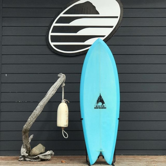 Bauer Fish 5'8 x 21 1/2  x 2 9/16 Used Surfboard - Deck