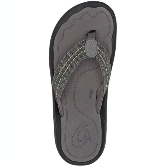 Olukai Hokua Mesh Sandals - Clay/Charcoal