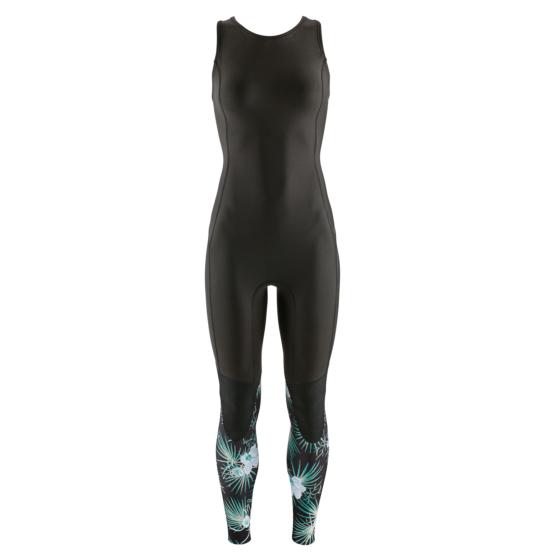 Patagonia Women's R1 Lite Yulex 2mm Long Jane Wetsuit - Bayou Palmetto/Ink Black