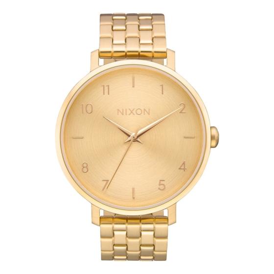 Nixon Women's Arrow Watch - All Gold