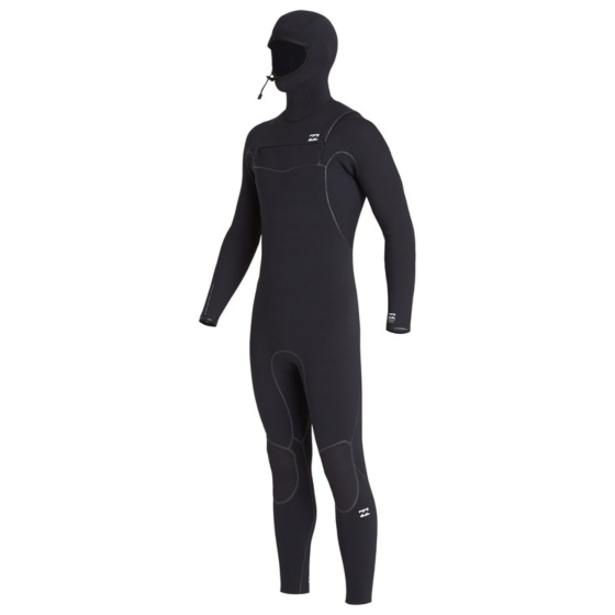 Billabong Furnace Ultra 5/4 Hooded Chest Zip Wetsuit - Black