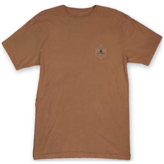 Channel Islands Ranch Hex T-Shirt - Rust Washed