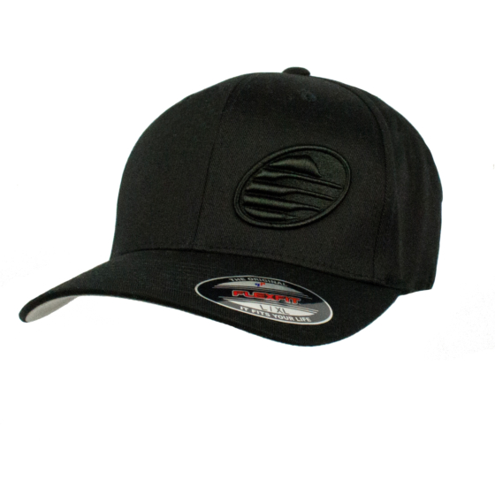 Cleanline Embroidered Rock Hat - Black/Black