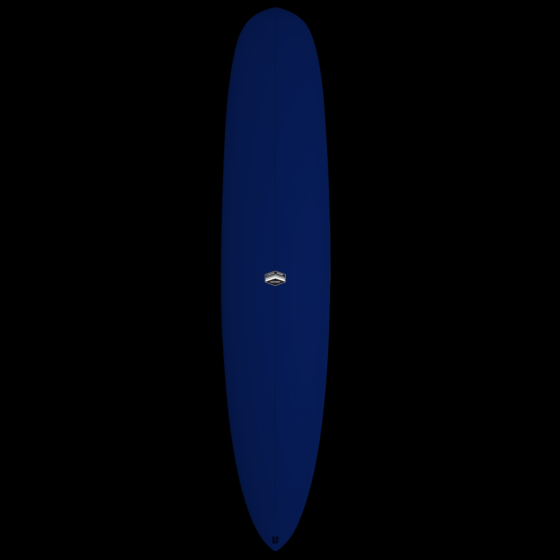 CJ Nelson Designs Colapintail Thunderbolt Surfboard - Blue Xeon - Deck