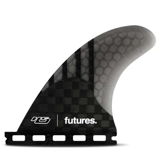 Futures Fins HS 4.20 Generation Quad Rears - Carbon/Smoke