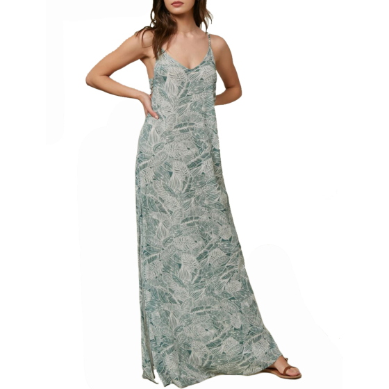 O'Neill Women's Jupiter Dress - Washed Spruce - front