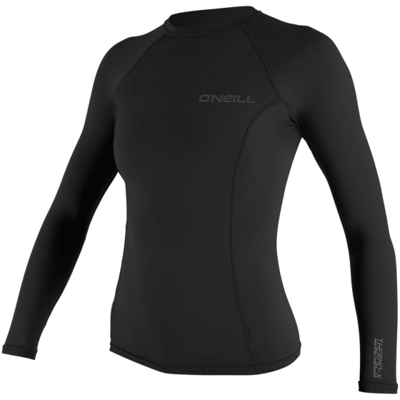 O'Neill Wetsuits Women's Thermo-X Long Sleeve Crew - Black