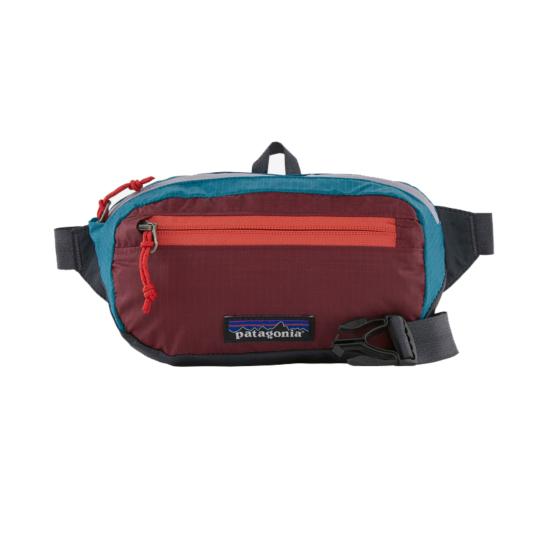 Patagonia Ultralight Black Hole Mini Hip Pack - patchwork/roamer red