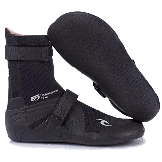 Rip Curl Wetsuits Flash Bomb 7mm Round Toe Boots