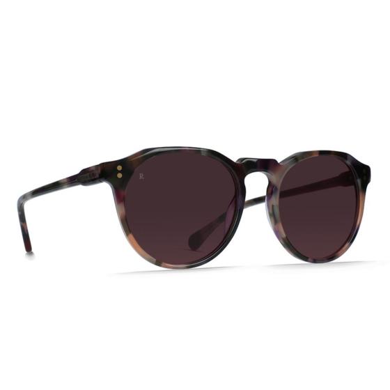 Raen Remmy Polarized Sunglasses - Wren/Rose - Side Angle