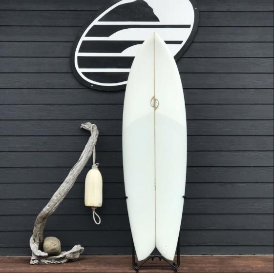Bing Twin-Fin Fish 6'4 x 21 1/8 x2 7/8 Used Surfboard