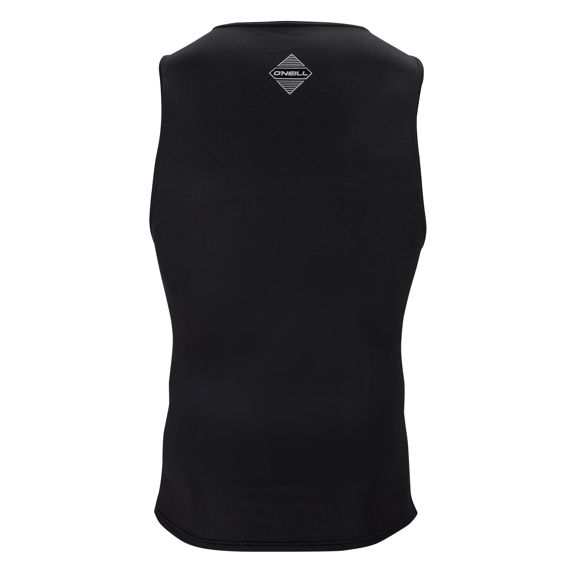 Black//Black ONeill Wetsuits Mens Hyperfreak Rib Cage Vest