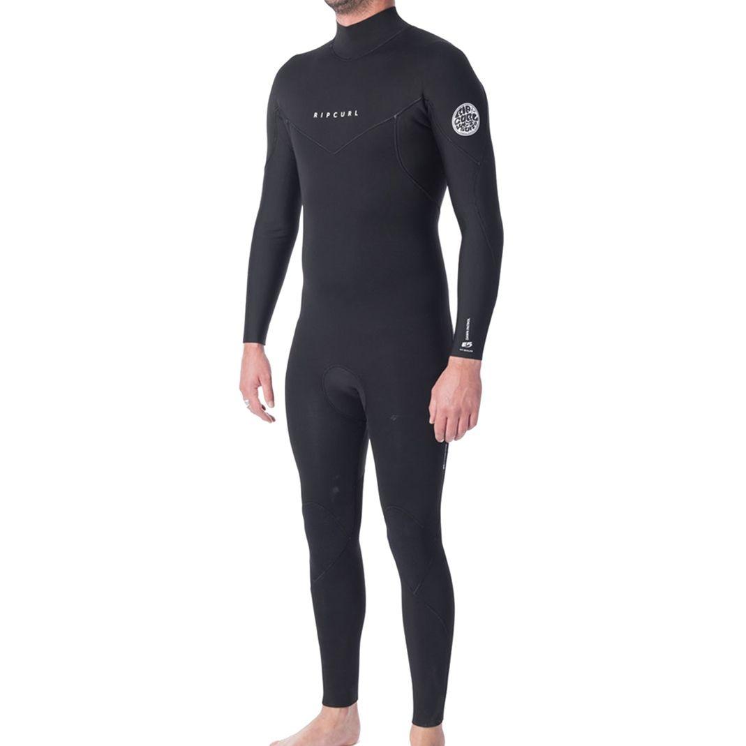 Rip Curl Dawn Patrol Mens Wetsuit 4//3mm Premium High Stretch Back Zip Full Wetsuit Lightweight Neoprene
