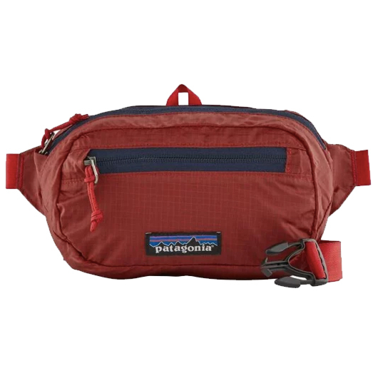 Patagonia Ultralight Black Hole Mini Hip Pack - rincon red