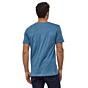 Patagonia Fitz Roy Scope Organic T-Shirt - Woolly Blue