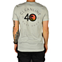 Cleanline #40 T-Shirt - Silver - back