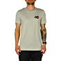 Cleanline #40 T-Shirt - Silver - front