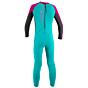 O'Neill Toddler Reactor II 2mm Wetsuit - Aqua/Graphite/Berry