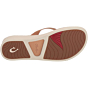 Olukai Women's Ao Loa Leather Sandals - Golden Sand