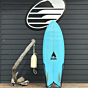 Bauer Fish 5'8 x 21 1/2  x 2 9/16 Used Surfboard - Bottom