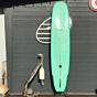 Modern Retro 9'6 x 23 5/8 x 3 3/8 Used Surfboard - Green