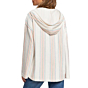 Roxy Women's Call Of The Ocean Hooded Poncho - North Atlantic Watergirl - back