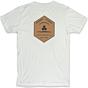Channel Islands Ranch Hex T-Shirt - Bone White