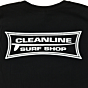 Cleanline Longboard T-Shirt - Black Back