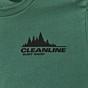 Cleanline Treeline Seaside T-Shirt - Evergreen Front
