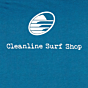 Cleanline Swell Day T-Shirt - Deep Teal - Back