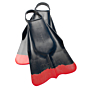 DaFiN Swim Fins - Black/Red