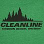 Cleanline Women's Treeline Cannon Beach Top - Heather Grass Green