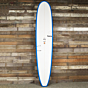 Torq Longboard 9'6 x 23 1/2 x 3 1/4 Surfboard - Denim Blue/White