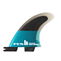 FCS II Performer PC Small Quad Fin Set - Rear
