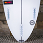 Channel Islands Happy Step Up 6'0 x 19 1/4 x 2 7/16 Surfboard - Fins