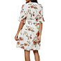 O'Neill Womens Molly Floral Dress - Winter White - back