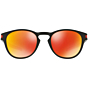Oakley Latch Prizm Sunglasses - Matte Black/Torch Iridium