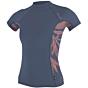 O'Neill Wetsuits Women's Side Print Rash Guard - Mist/Faye