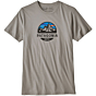 Patagonia Fitz Roy Scope Organic T-Shirt - Feather Grey
