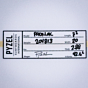 Pyzel Padillac 7'2 x 20 x 2 7/8 Surfboard - Dims