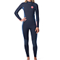 Rip Curl Women's Dawn Patrol 3/2 Back Zip Wetsuit - Slate