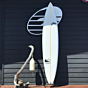 Rusty Custom Gun 8'4 x 19.8 x 2.8 Used Surfboard