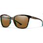 Smith Women's Colette Polarized Sunglasses - Tortoise Marine/ChromaPop Brown