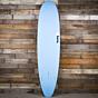 Torq Mini Longboard 8'0 x 22 x 3 Surfboard - Blue/White - Bottom