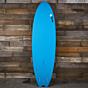 Torq Mod Fish 6'6 x 21 x 2 5/8 Surfboard - Blue - Bottom