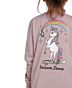 Volcom Youth Made From Stoke Long Sleeve T-Shirt - Faded Mauve