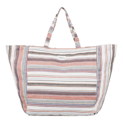 Roxy Women's Time Is Now Tote Bag - Natural - Front