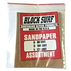Block Surf Sandpaper Assortment