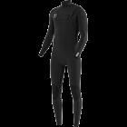 Vissla Seven Seas 4/3 Chest Zip Wetsuit - Black/Jade