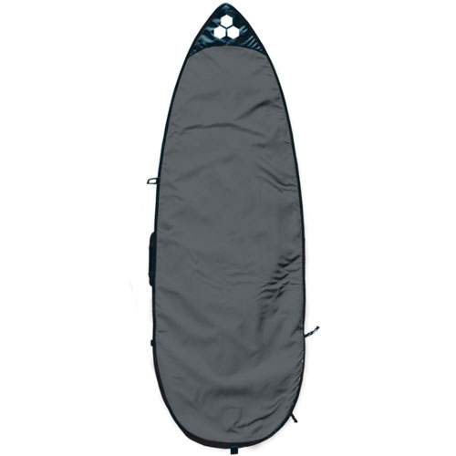 Channel Islands Feather Lite Shortboard Surfboard Bag - Charcoal